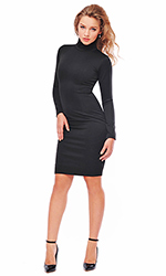 Gia Polo-Neck Dress