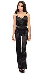 Aysha Satin Jumpsuit