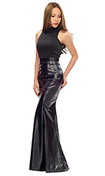 Leatherette Viva Skirt