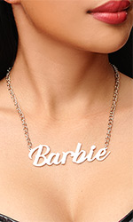 Barbie Necklace (LARGE size)