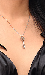 Chastity Key Necklace