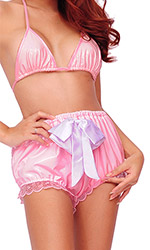 Tizzy Bow PVC AB panties