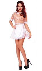Plastic Serving French Maid