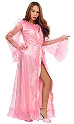 Plastic and Satin Moviestar Gown