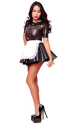Plastic Elegant French Maid
