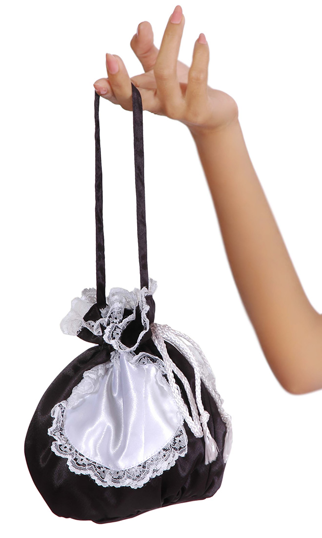 Satin Maids Bag