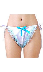 Bikini Fawn Panties with Lace