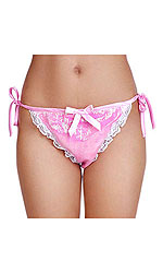 Bikini Melissa Satin and Glass-silk Panties