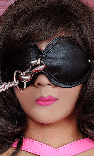 Leather Blindfold Goggles Bon016 - 2892  The Fantasy Store, Sexy Fantasywear-5228