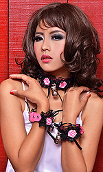 "Sweetie Collar and Cuffs Set (1"")"