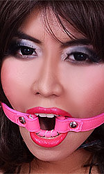 Leather O-ring Gag