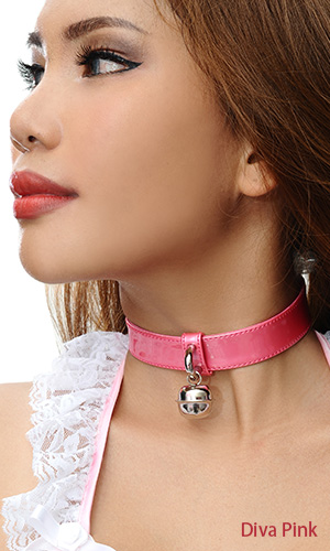 1 inch Shiny Bell Collar