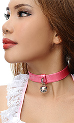 "1"" Shiny Bell Collar"