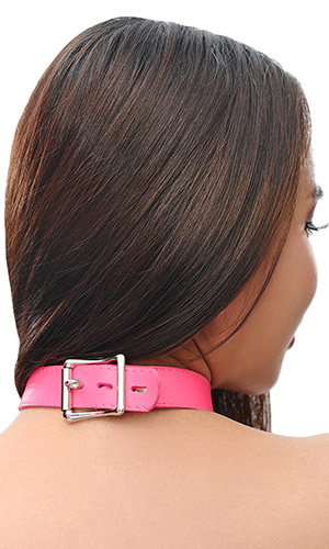 1 inch Leather Bell Collar