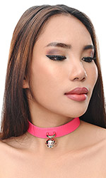 "1"" Leather Bell Collar"