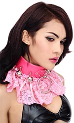 "3"" Big-ring Sissy Bells Collar"