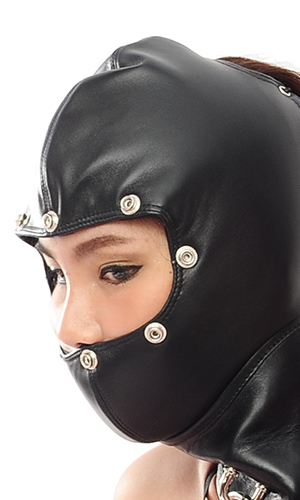 Lamb-leather Open Upper Hood