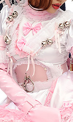 Leather Lockable Sissy Reins