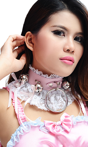 1.5 inch Big-ring Sassy Bells Collar