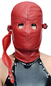 Lamb-leather Blindfold Hood