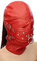 Lamb-leather Gag Hood