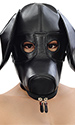 Leather Doggy Pup Hood