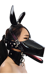 PVC Puppy Snout Mask
