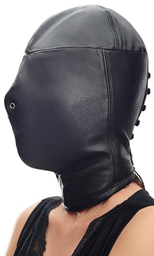 Lamb-leather Full Hood