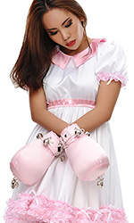 Lockable ABDL Bondage Mitts