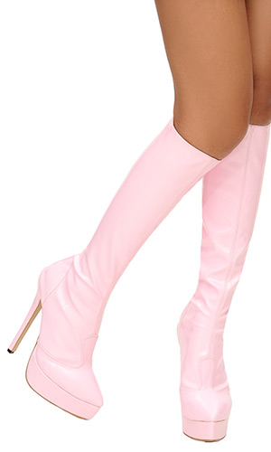 6 inch Tanya Knee Boots