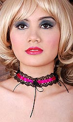 Kiki Satin and Lace Choker