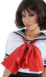 Cosplay Satin Neck-tie