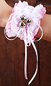 Belle - Satin & Lace Bell Cuffs (two)