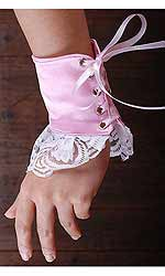 Maisy - Satin Maids Cuffs (two)