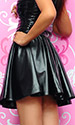 Carissa Leatherette Skirt