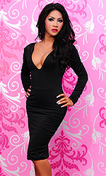 Elly Spandex Party Dress