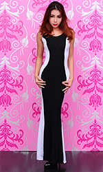 Mayte Long Spandex Dress