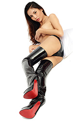 Highspikes 9 inch Thigh Boots