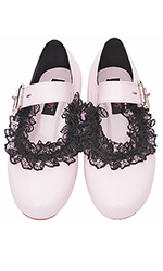 Frilly Baby Janes Shoes