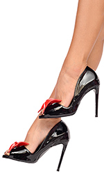 "4"" Gracie Bow Heels"