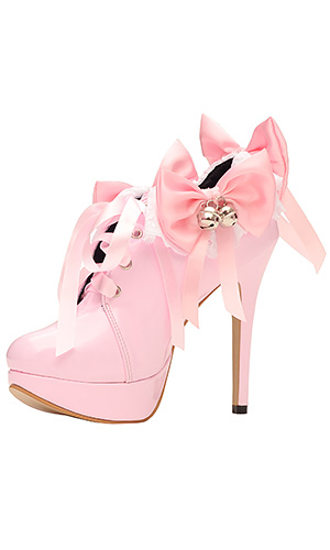 5 inch Jingle Bows Maid Shoes