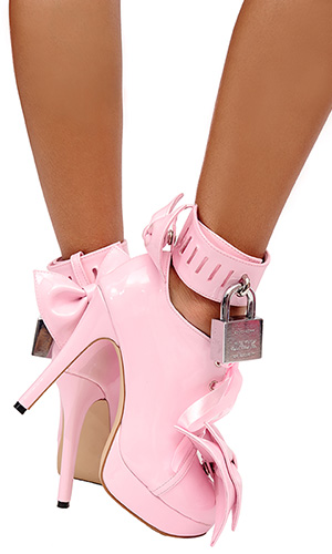 5 inch Lockable Pansybow Shoes