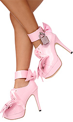 "5"" Lockable Pansybow Shoes"