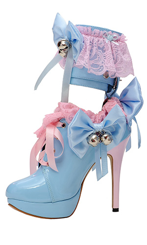 5 inch Lockable Sissy Fancies Shoes
