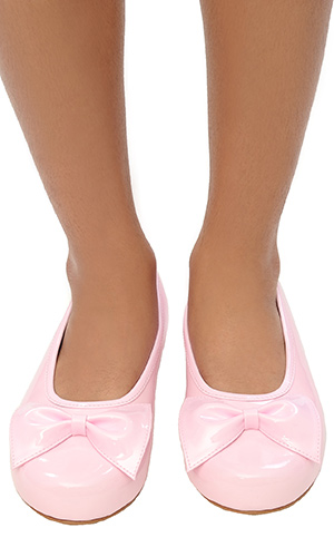 Princess Pumps with Bow