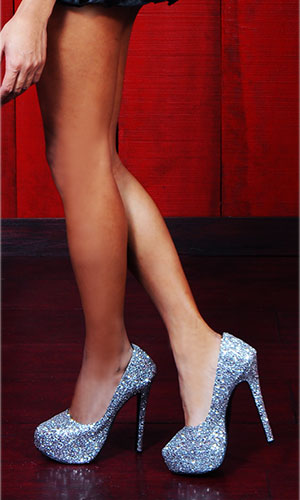 6 inch Sparkling Starlet Fashion Shoes