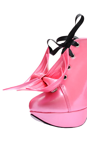 5 inch Super Bow Shoes