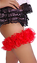 Deluxe Satin and Lace Garter