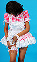 Annikka Gingham Sissy Maid Uniform