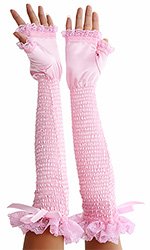 Sweetness Cut Opera Gloves